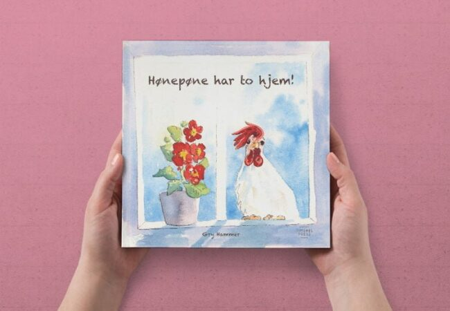 BARNEBOKEN MIN HØNEPØNE HAR TO HJEM